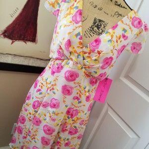 Betsey Johnson Floral Dress NWT